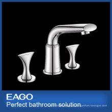 Новый дизайн 3 отверстия Латунь Смеситель faucet тазика (PL206B-66S)