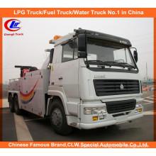 Heavy Duty 10 Wheel 351-450HP HOWO Road Recovery Truck