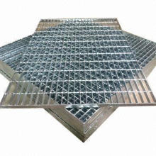Steel Grating Is Made of Flat Steel and Bars