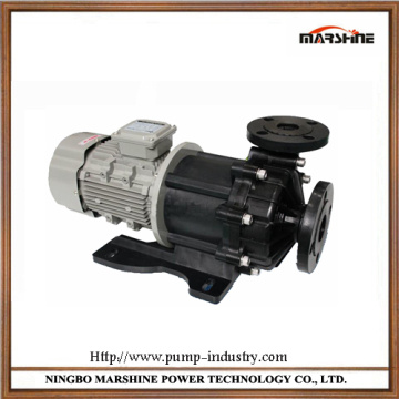 Horizontal plastic micro corrosion resistance no leakage magnetic pump