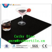 Heißer Verkauf Werbeartikel Gummi Bar Mats Spill Rubber Mat