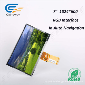 "7"" 50 Pin RGB Interface Touch TFT Display"