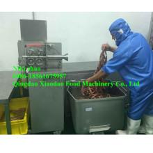 Machine d'enlèvement de peau de carottage de saucisse / éplucheuse de saucisse