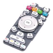 Изготовленная на заказ OEM проводная кнопочная панель из силиконовой резины