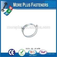 Made in Taiwan Stainless Steel strong stainless steel hose clamps thin hose clamp bridge