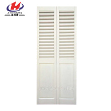 *JHK-ZD 013  Louvered Interior Doors Wooden Shutters Indoor White Wooden Blinds