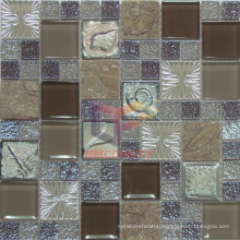 Luster Crystal Mix Resin Glass Mosaic (CSR068)