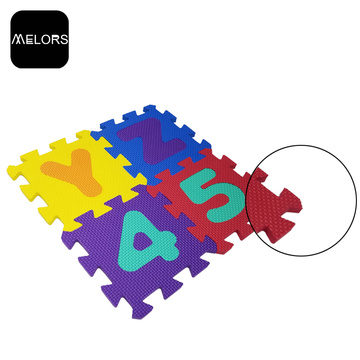Melors Interlocking Jigsaw Foam Kids Puzzle Tapis de jeu