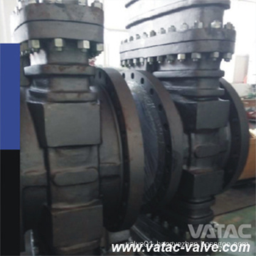 Pneumatic and Handwheel Operated A216 Wcb Cl150~Cl600 Slab Gate Valve API/CE