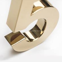 Пользовательские металлические буквы для наружных вывесок или в помещении