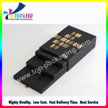 Boîte en papier cosmétique de luxe personnalisée à Shenzhen avec tiroir