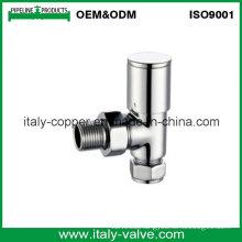 OEM&ODM Chromed Brass Radiator Valve Without Themotatic (AV3074)