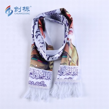 hot selling new fashion custom polyester satin scarf