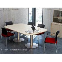 Tabela de conferência de mesa de reunião de melamina moderna (HF-EMT002)