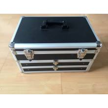 New Design Hard Case Tool Box Aluminum Storage Tool Case with Two Drawers (KeLi-drawer-1020)