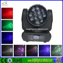RGBQ Quad-Farb-Strahl 12x10W führte bewegliche Kopf / LED bewegte Scheinwerfer