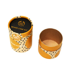 Custom+Printed+Brown+Kraft+Tube+For+Cookie+Packaging