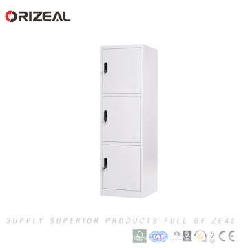 Orizeal Commercial elegant design compact laminate 3 tier used lockers for sale(OZ-OLK009)