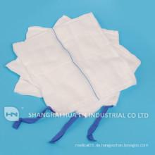 100% Baumwolle medizinisch hoch absorbierende abdomonale Spondage