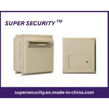 Boîte de coffre-fort de verrouillage en acier à travers le mur (SMQ18)
