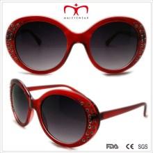 Plastik Damen Sonnenbrille mit Strass (WSP508370)