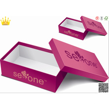 Boîte de rangement pour chaussures / boîte à chaussures en papier / rangement pour chaussures (mx-100)