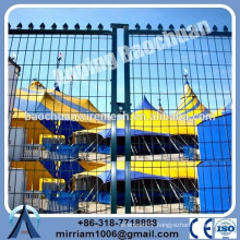 hot-dip galvanized and powder coated used temporary fence