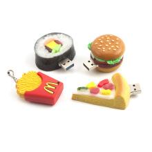 Disco flash USB estilo comida 3D super lindo