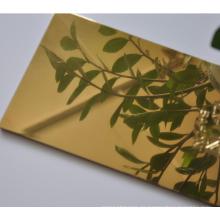 hochwertige Spiegel / Pinsel fertig Aluminiumplatte Dekorfolie