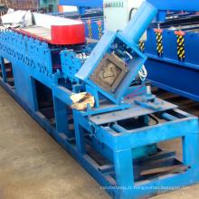 Auto Chine fabricant en acier de stockage rack étagère faisceau poutre formant la machine