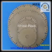 Алмазный вакуумные паяные алмазные пилы для бетона керамический Мрамор гранит