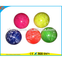 High Quality Colorful Promotion High Rubber Cloudy Bouncing Ball Toy for Kid