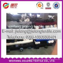 Tela teñida twill teñida 100% algodón stock weifang