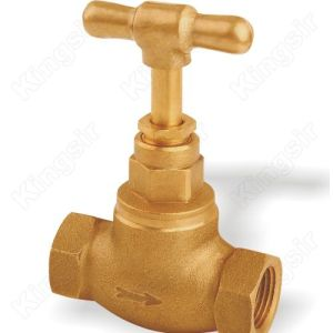 Good Sealing Performance Brass Stop Valves