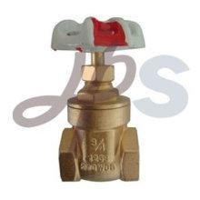 Válvula de compuerta de latón 200WOG para agua