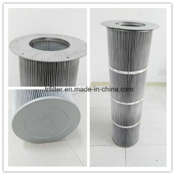 Cartouche filtrante antistatique de collection de poussière de polyester