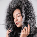 Reversible Mink Fur Coat For Women