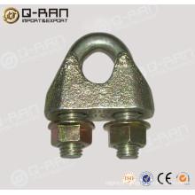 Ferragem maleável grampo para cabo de aço