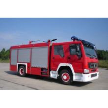HOWO 4 * 2 de agua y espuma de lucha contra incendios de camiones (ZZ1167M4617C)