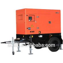 Générateur mobile de secours de 50kva avec ATS