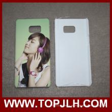 Sublimación 3D caja del teléfono móvil para Samsung Galaxy nota 7