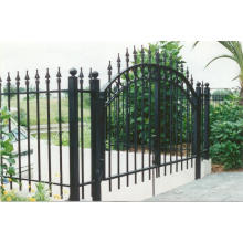 Ornamental Elegant Iron Fence Gate