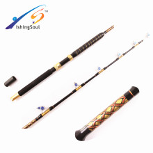GMR097 wholesale fishing tackle powerful fishing big game rod trolling rod with roller guides