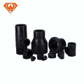 Black PE Pipe Socket Fusion Jointed Fittings
