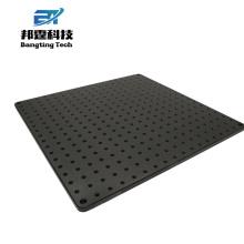 Nuevo diseño Precio de fábrica placa de aluminio porosa con agujero