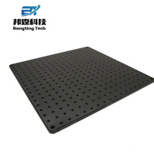 Nouvelle conception prix usine plaque d'aluminium poreux avec trou