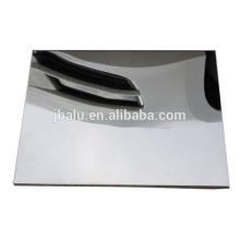 отделка стана зеркало светоотражающие чеканный лист алюминиевый покров из сплава для применения в промышленности