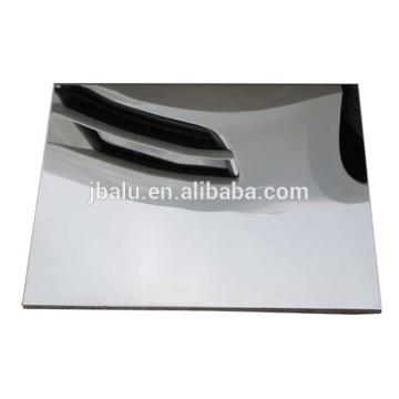 China alta qualidade 1060 espelho preço de fábrica de alumínio