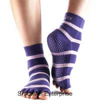 Personalizar por mayor alta calidad interior Yoga antideslizante calcetines