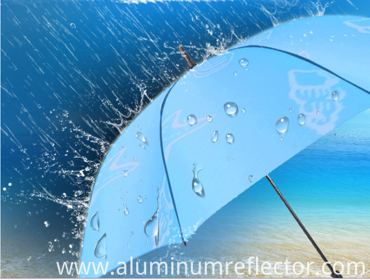Aluminum rolls waterproof level